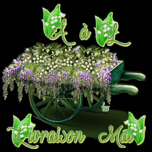 ✿ﻼღ♥ღ MAI ✿ﻼღ♥ PLUIE & SOLEIL ✿ﻼღ♥ LE MUGUET REFLEURIT ✿ﻼღ♥ LIVRAISON ✿ﻼღ♥ღ ~♥~ A à Y ~♥~