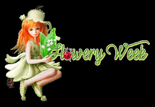 ♡ﻼღ MAY 2021 ♡ﻼღ LILY OF THE VALLEY ♡ﻼღ WORDS WEEK'S DAY ♡ﻼღ ~03~