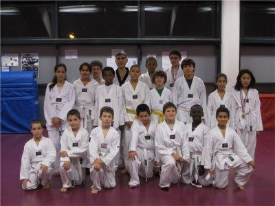 l'équipe des enfants (9 à 16ans)