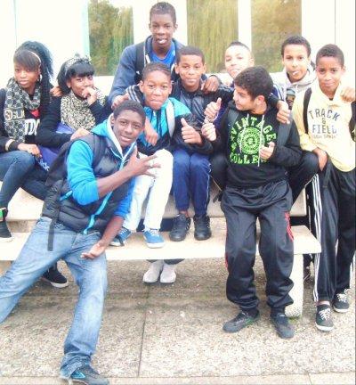 la The team