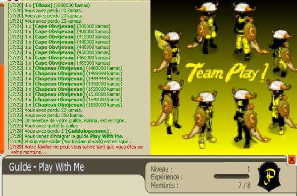 Team-play en action !!
