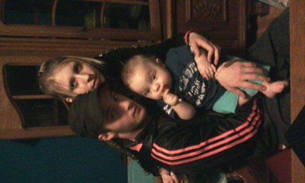 Moi mon tit n homme et notre neveux lyssandro