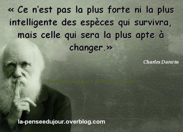 THEORIES DE L'EVOLUTION ...