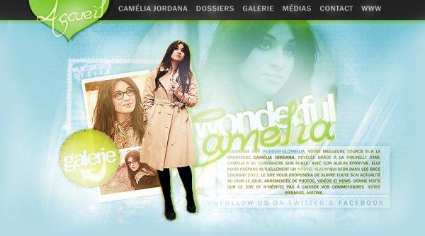 WonderfulCamelia, le site fan de référence sur Camélia Jordana