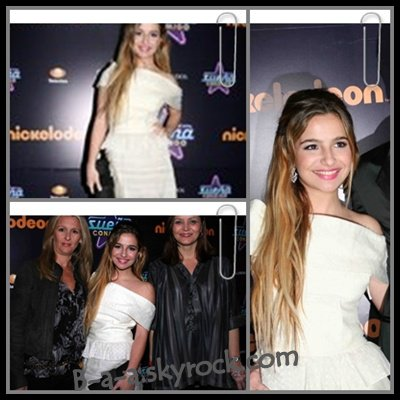 Article Flashback  Quelques Photos de Brenda lors de la presentation de Sueña Conmigo sur Nickelodeon le 23 Juillet 2010.        Vous aimez sa tenue?