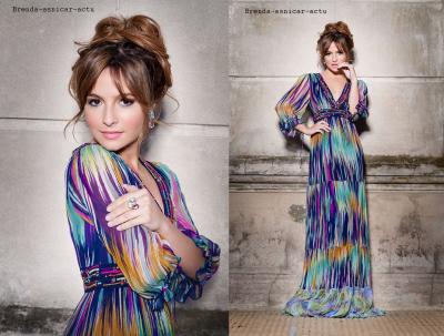Photoshoot de Brenda pour Holà Magazine