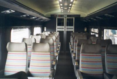 Intérieur du TGV Sud Est - Je vais vous montrer ma passion qui est le...