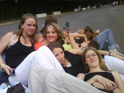 Mes amies du collège en Normandie
