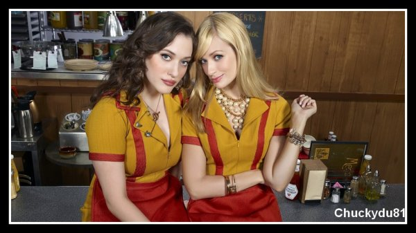 2 broke girls - Saison 02