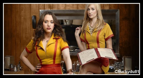 2 broke girls - Saison 03