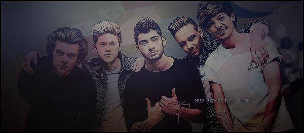 """"""" ● ● ● Bienvenue sur OneDirections, ta source d'actualité sur le groupe One Direction  Suit toute l'actu' du groupe anglais grâce à ton blog source et ses nombreux articles tel que ses candids, photoshoot, évènements, etc """""""