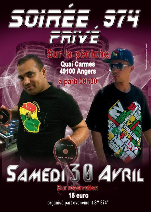 KL Mike & Dj Dav'974 si Angers lo 30 Avril !!