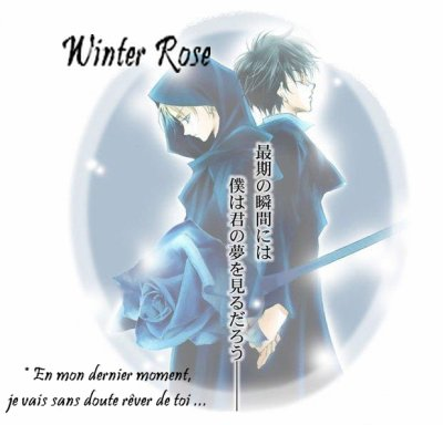 """Un nouveau doujinshi : """"Winter Rose"""" en attendant le retour / la suite d'Innocent Drops [...] Désolé."""