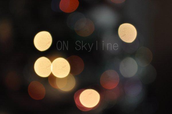 ©;ON-SKYLINE ; ~ Bokeh
