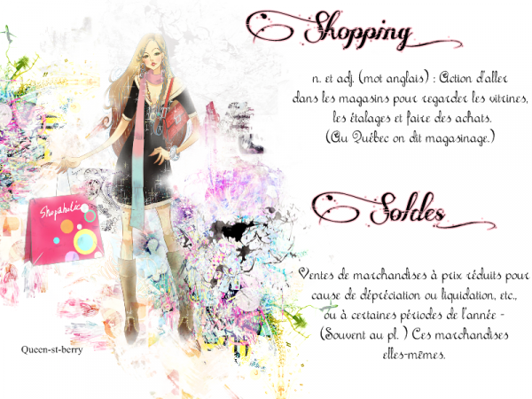 Soldes - Shopping
