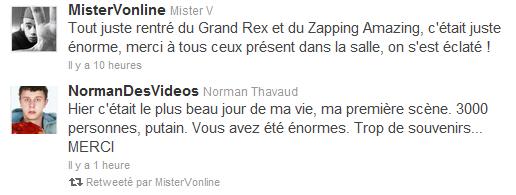 {13Jan.2012} Le Zapping Amazing