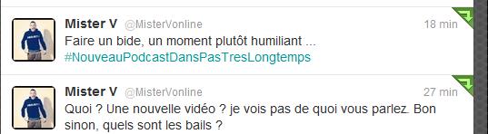 """{22Mars2012} Nouvelle vidéo feat Cyprien! """" Comme Une Merde """""""
