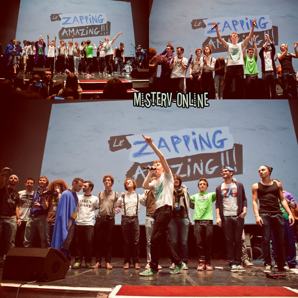 {8Avril.2012} Photos du Zapping Amazing