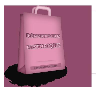 Répertoire historique