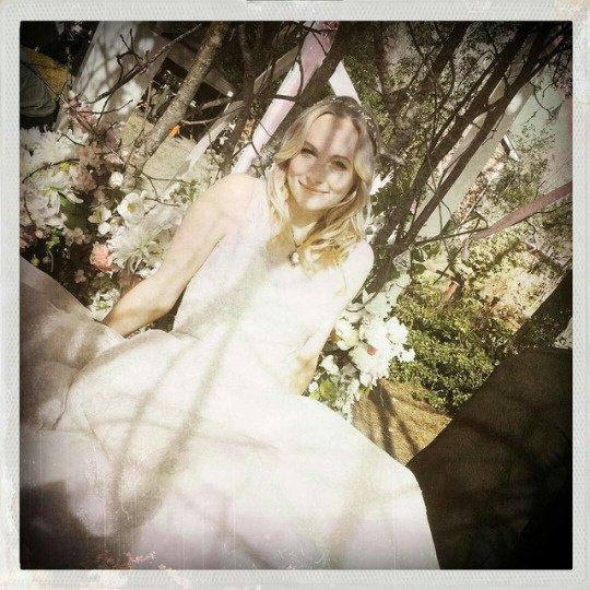 The beautiful bride ! ❤❤❤