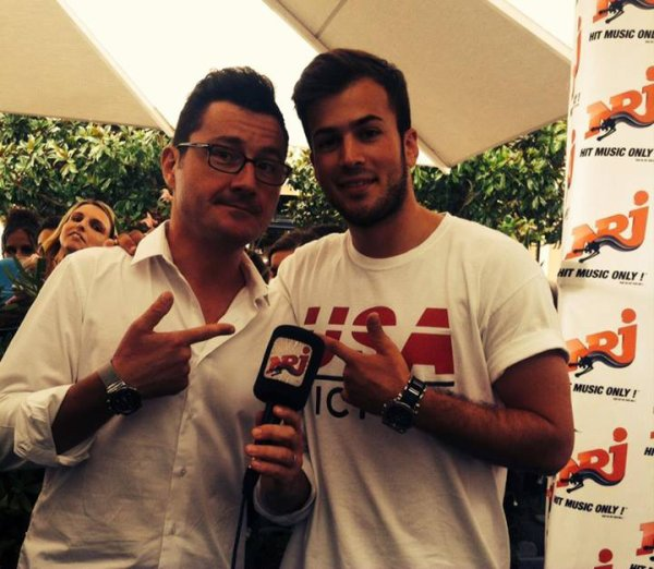David Carreira a NRJ Bordeaux