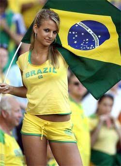 Supporters Brésiliens.