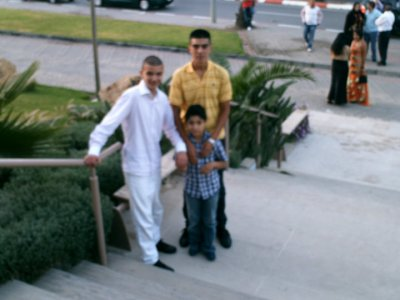 me and my cuz wedin in morocco