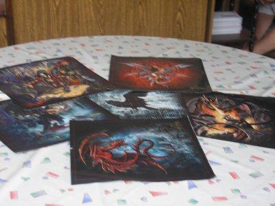 Posters ( alchemy, manson, metallica...)