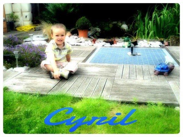 Cyril, le petit fieul ♥