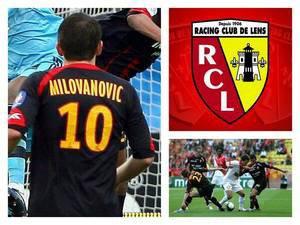 dejan milovanovic au club du rc lens de 2008-2010