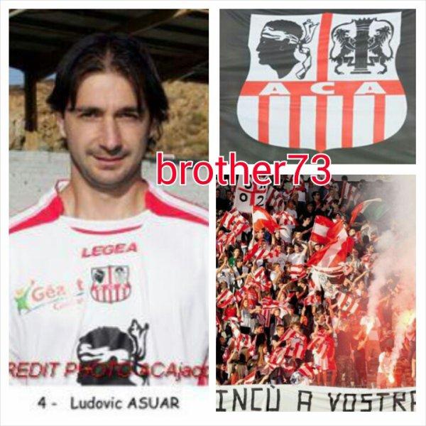 ludovic asuar au club du ac ajaccio de 2007-2009
