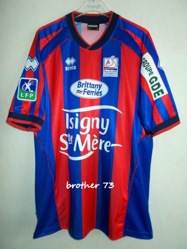 maillot igor matic stade malherbe de caen saison 2004-2005