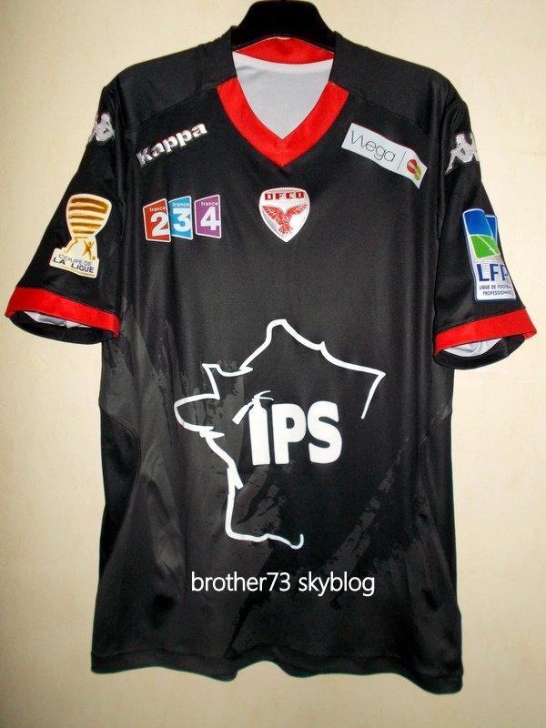 maillot florent MOLLET DIJON FCO coupe de la ligue saison 2014-2015