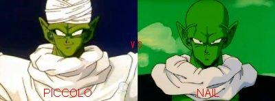 Sondage n°5 : Piccolo vs Nail ( Dragon ball z )