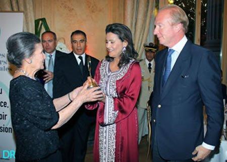 La Princesse Meryem  & Simone Veil
