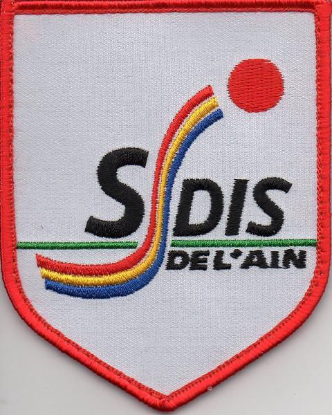 Ecusson du SDIS de l' AIN (01)