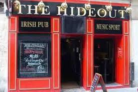 prochaine soiree: HAPPY HOUR TOUTE LA NUIT       AU BAR  hideout ( bar sur paris)