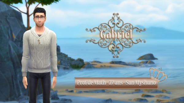 Présentation de Gabriel !