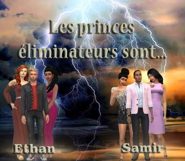 Princes éliminateur semaine n°1