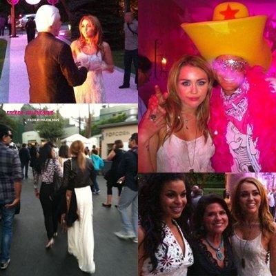 """Miley au """"Starkey Hearing Gala"""" - le 23 juillet 2011"""