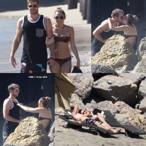 Miley et Liam a la plage de Malibu , CA - OCTOBRE 2011