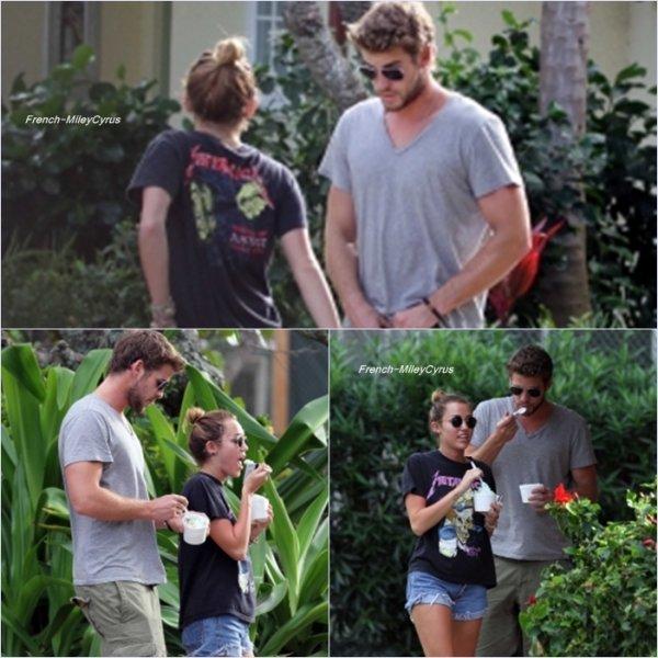 Miley et Avec Liam en vacance à Hawaii - le 29 décembre 2011