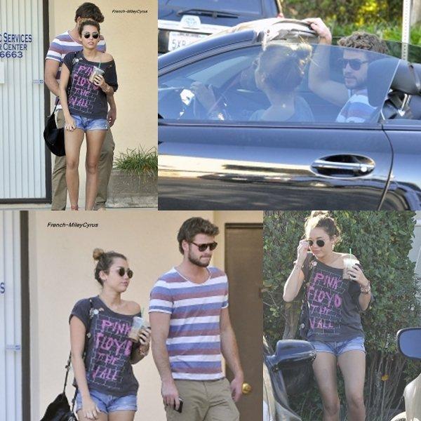 Miley et Liam Allant chez un dermatologue à Studio City, CA - 5 janvier