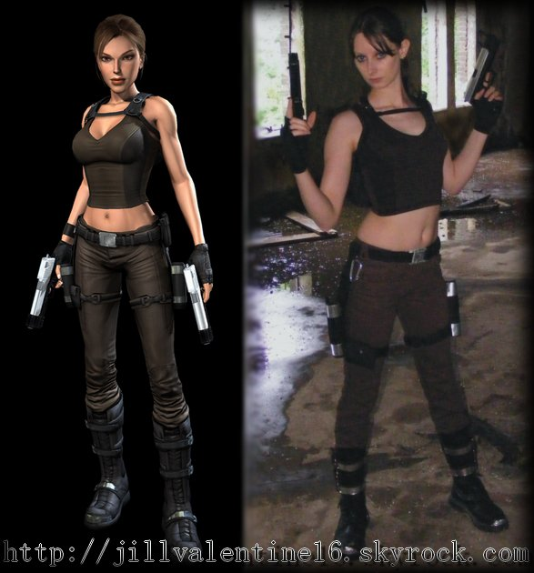 Cosplay Lara Croft de Tomb Raider Underworld