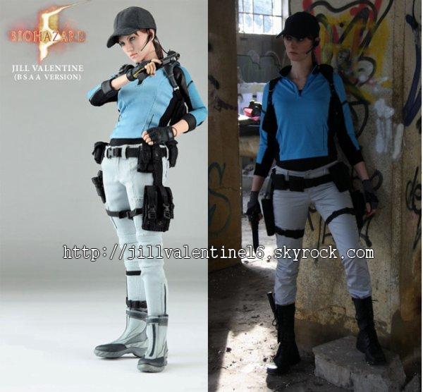Cosplay Jill Valentine de Resident Evil 5: BSAA