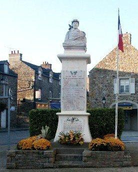 st jean des guerets 35 monument + plaque eglise(cherche photo plaque)