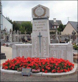 st lunaire 35 monument 14 18 +39 45+plaque commemorative