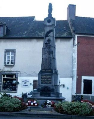 st meloire des ondes 35 monument+plaque eglise