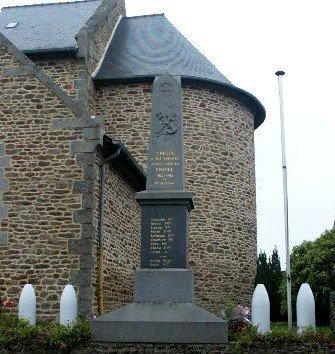 tresse 35 monument+tableau eglise(cherche photo du tableau)