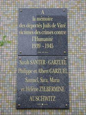 vitre 35 monument + plaque  commemorative